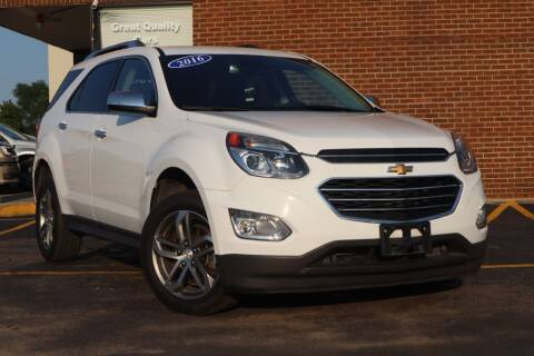 2016 Chevrolet Equinox for sale at Hobart Auto Sales in Hobart IN