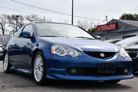 2003 Acura RSX for sale at Wheel Deal Auto Sales LLC in Norfolk VA