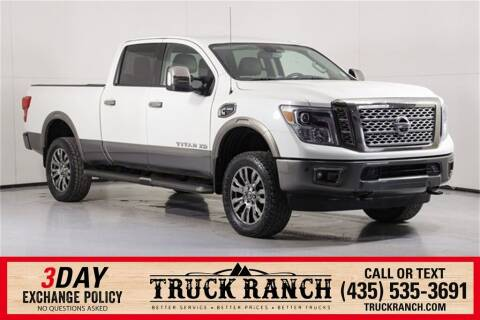 2018 Nissan Titan XD for sale at Truck Ranch in Logan UT