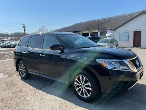 2013 Nissan Pathfinder for sale at Ron Motor Inc. in Wantage NJ