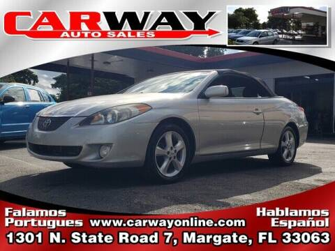 2006 Toyota Camry Solara for sale at CARWAY Auto Sales in Margate FL