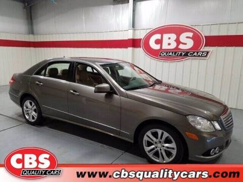 2010 Mercedes-Benz E-Class for sale at CBS Quality Cars in Durham NC