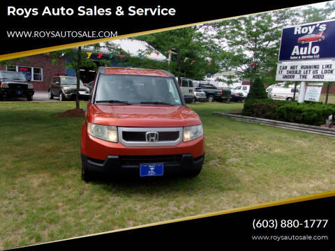 2010 Honda Element for sale at Roys Auto Sales & Service in Hudson NH