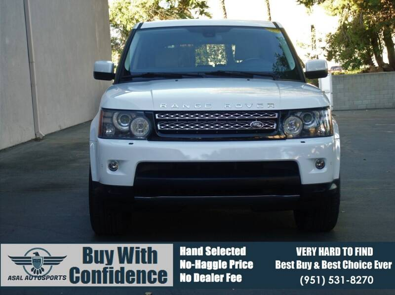 2012 Land Rover Range Rover Sport for sale at ASAL AUTOSPORTS in Corona CA