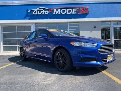 2013 Ford Fusion for sale at AUTO MODE USA in Burbank IL