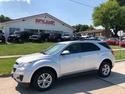 2015 Chevrolet Equinox for sale at Efkamp Auto Sales LLC in Des Moines IA
