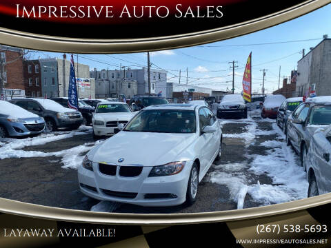 2007 BMW 3 Series for sale at Impressive Auto Sales in Philadelphia PA
