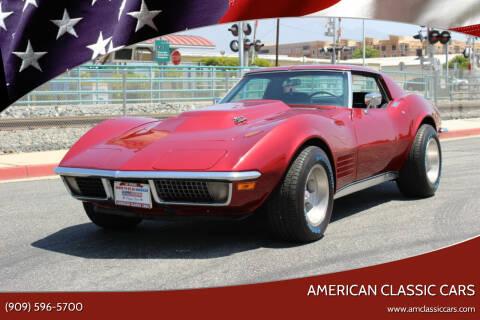 1970 Chevrolet Corvette for sale at American Classic Cars in La Verne CA