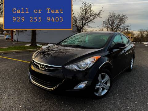 2013 Hyundai Elantra for sale at Ultimate Motors in Port Monmouth NJ