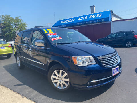 2012 Chrysler Town and Country for sale at Gonzalez Auto Sales in Joliet IL