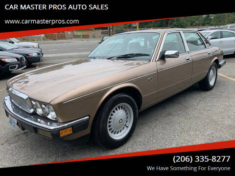 1989 Jaguar XJ-Series for sale at CAR MASTER PROS AUTO SALES in Lynnwood WA