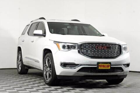 2017 GMC Acadia for sale at Chevrolet Buick GMC of Puyallup in Puyallup WA