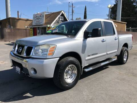 2006 Nissan Titan for sale at C J Auto Sales in Riverbank CA