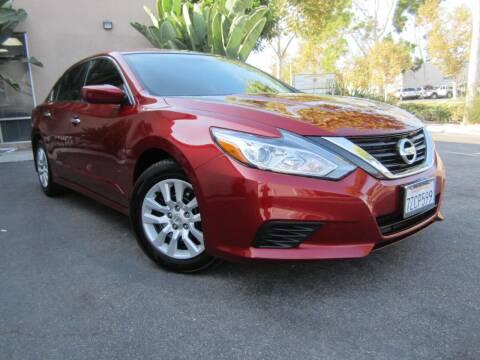 2017 Nissan Altima for sale at ORANGE COUNTY AUTO WHOLESALE in Irvine CA