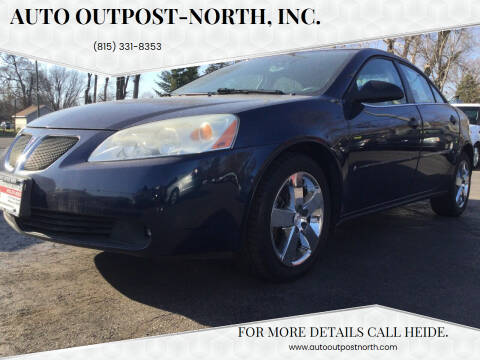 2009 Pontiac G6 for sale at Auto Outpost-North, Inc. in McHenry IL