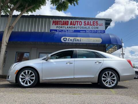 2015 Cadillac XTS for sale at PORTLAND AUTO SALES LLC. in Portland OR