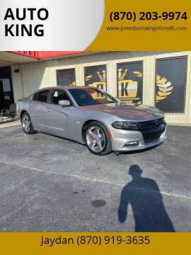 2017 Dodge Charger for sale at AUTO KING in Jonesboro AR
