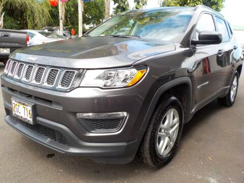 2018 Jeep Compass for sale at PONO'S USED CARS in Hilo HI