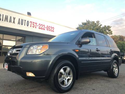 2006 Honda Pilot for sale at Trimax Auto Group in Norfolk VA
