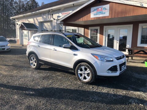 2016 Ford Escape for sale at M&A Auto in Newport VT