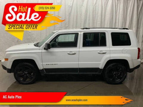 2012 Jeep Patriot for sale at AC Auto Plex in Ontario NY