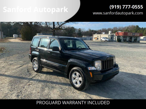 2009 Jeep Liberty for sale at Sanford Autopark in Sanford NC