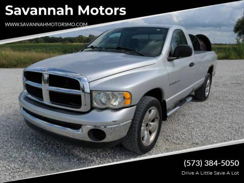 2005 Dodge Ram Pickup 1500 for sale at Savannah Motors in Elsberry MO