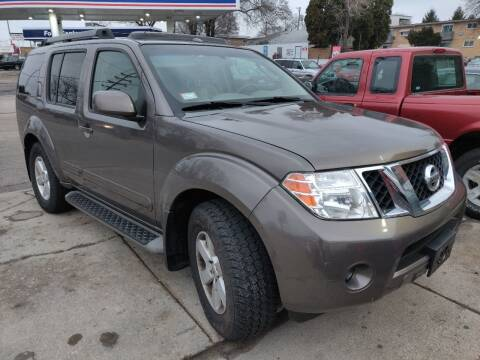 2008 Nissan Pathfinder for sale at Nationwide Auto Group in Melrose Park IL