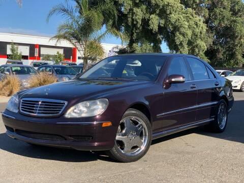 2001 Mercedes-Benz S-Class for sale at SHOMAN MOTORS in Davis CA