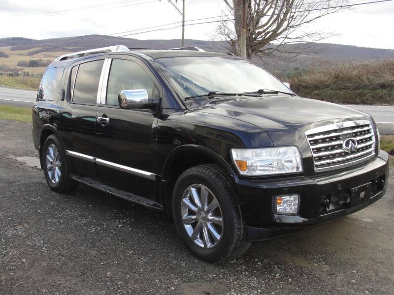2010 Infiniti QX56 for sale at Turnpike Auto Sales LLC in East Springfield NY