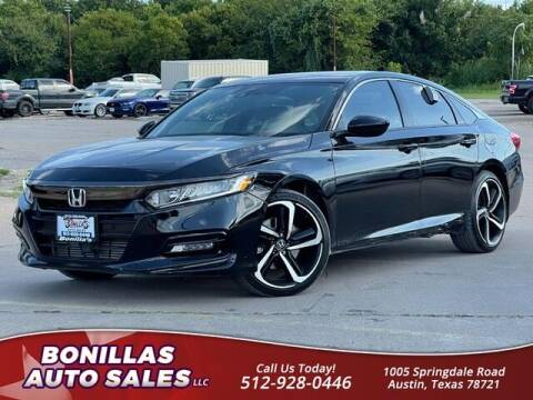 2018 Honda Accord for sale at Bonillas Auto Sales in Austin TX