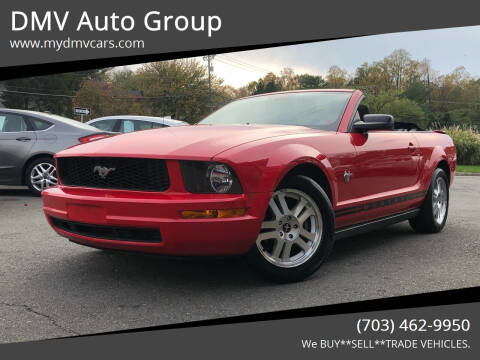 2009 Ford Mustang for sale at DMV Auto Group in Falls Church VA