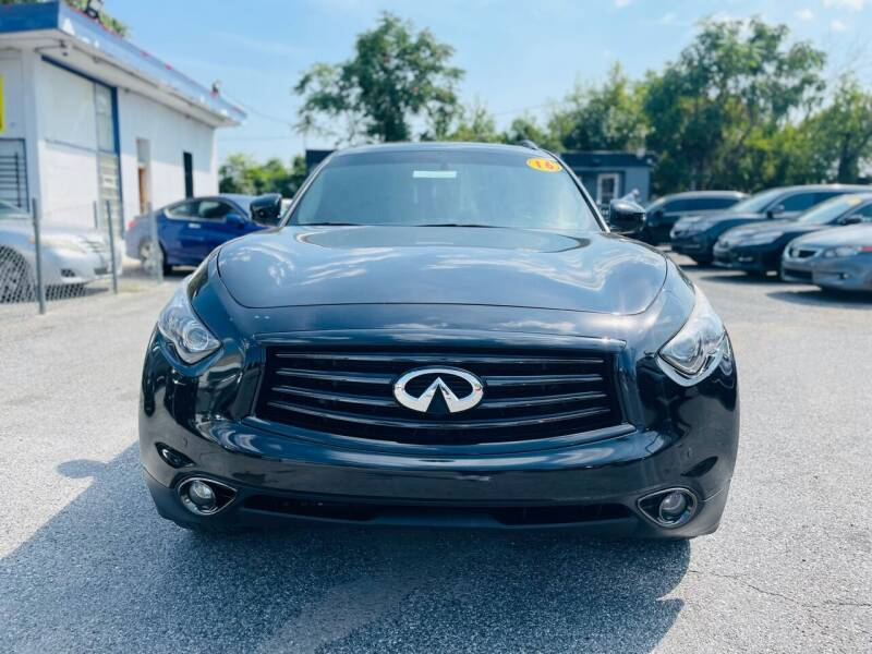 2016 Infiniti QX70 for sale at Sincere Motors LLC in Baltimore MD