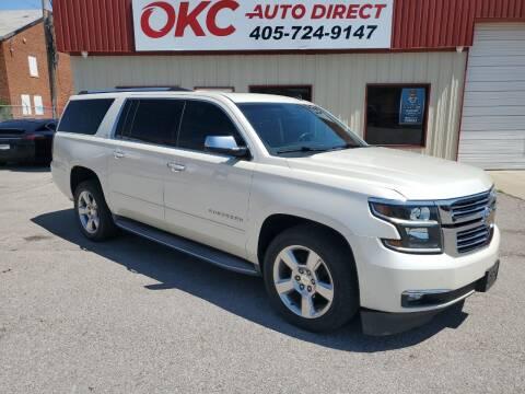 2015 Chevrolet Suburban for sale at OKC Auto Direct in Oklahoma City OK