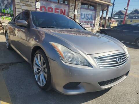 2009 Infiniti G37 Coupe for sale at USA Auto Brokers in Houston TX