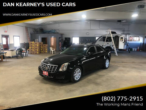 2012 Cadillac CTS for sale at DAN KEARNEY'S USED CARS in Center Rutland VT