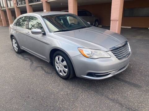 2014 Chrysler 200 for sale at AROUND THE WORLD AUTO SALES in Denver CO