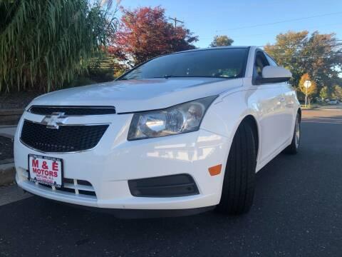 2013 Chevrolet Cruze for sale at M & E Motors in Neptune NJ