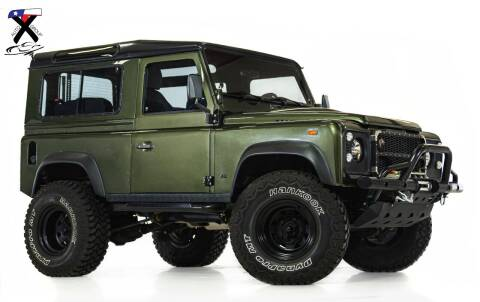 1992 Land Rover Defender for sale at TX Auto Group in Houston TX