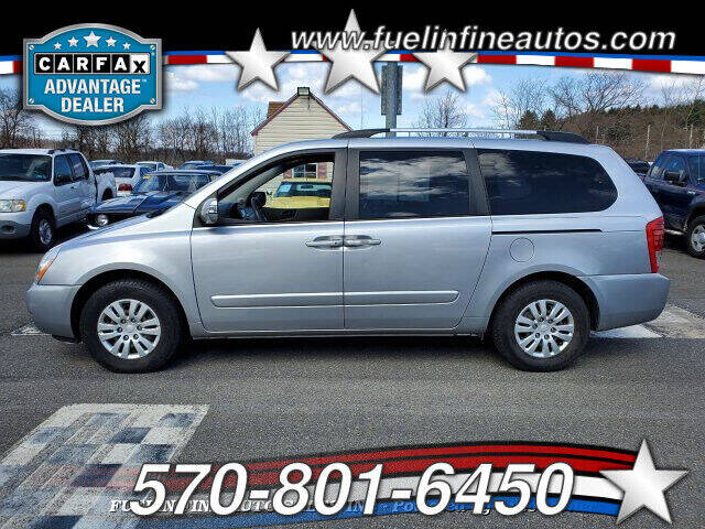 2011 Kia Sedona for sale at FUELIN FINE AUTO SALES INC in Saylorsburg PA