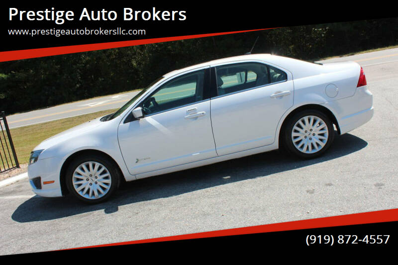 2011 Ford Fusion Hybrid for sale at Prestige Auto Brokers in Raleigh NC