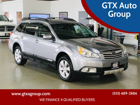 2011 Subaru Outback for sale at GTX Auto Group in West Chester OH