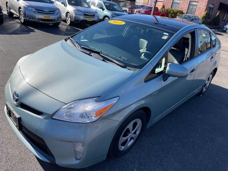 2013 Toyota Prius for sale at KINGSTON AUTO SALES in Wakefield RI