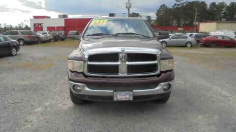 2004 Dodge Ram Pickup 1500 for sale at Auto Mart - Moncks Corner in Moncks Corner SC