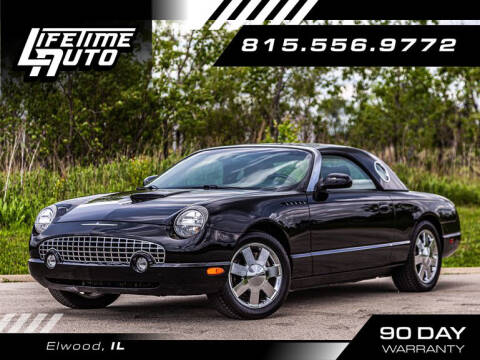 2002 Ford Thunderbird for sale at Lifetime Auto in Elwood IL