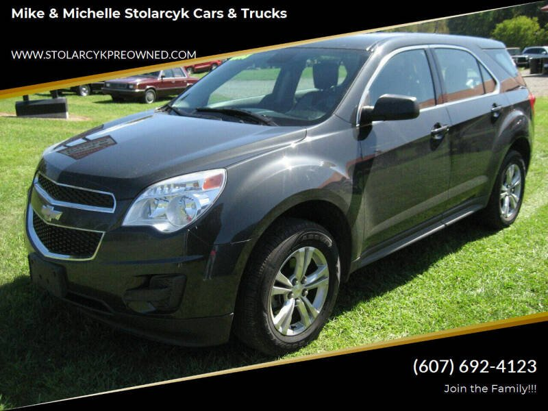 2013 Chevrolet Equinox for sale at Mike and Michelle Stolarcyk Cars and Trucks in Whitney Point NY