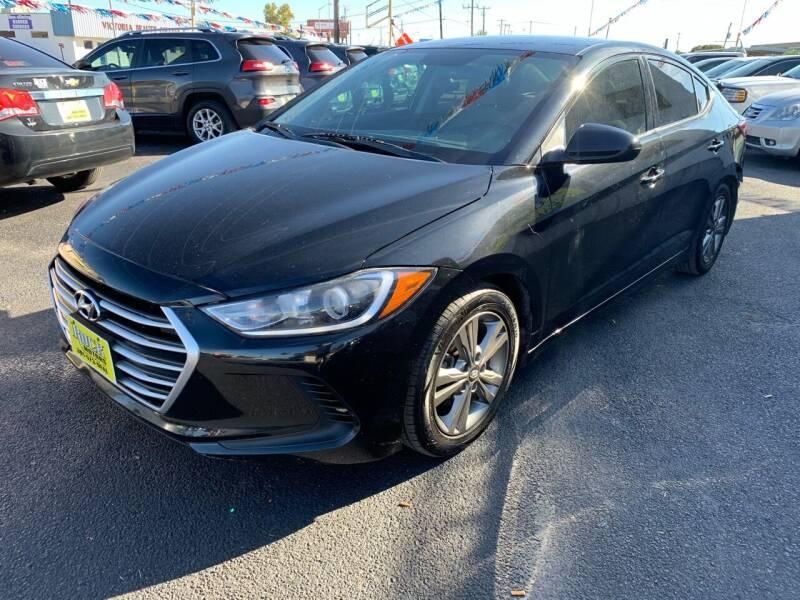 2017 Hyundai Elantra for sale at Rock Motors LLC in Victoria TX