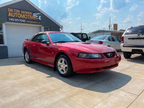 2002 Ford Mustang for sale at Dalton George Automotive in Marietta OH