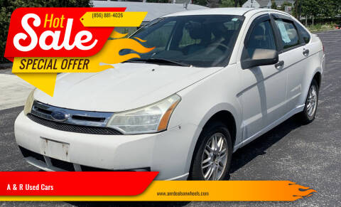 2010 Ford Focus for sale at A & R Used Cars in Clayton NJ