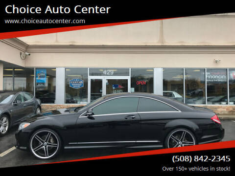 2008 Mercedes-Benz CL-Class for sale at Choice Auto Center in Shrewsbury MA